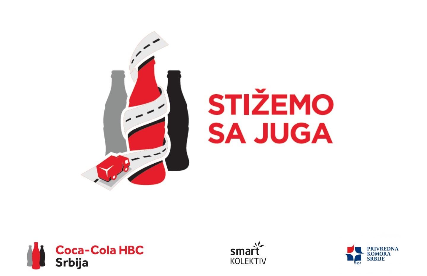 Coca-Cola HBC Srbija vas poziva da se prijavite za učešće u programu 'Stižemo sa juga'!