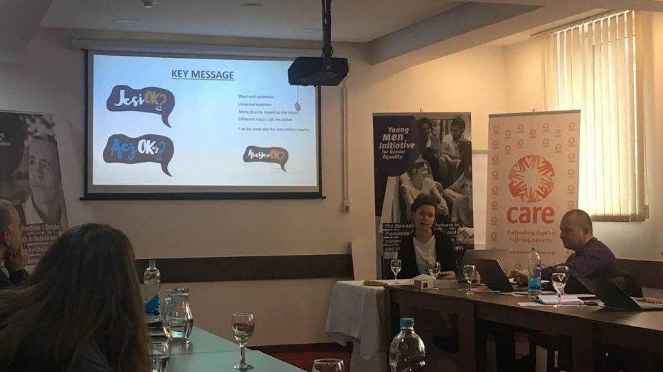 Projekat Inicijativa mladića: Predstavljena nova regionalna kampanja za mlade