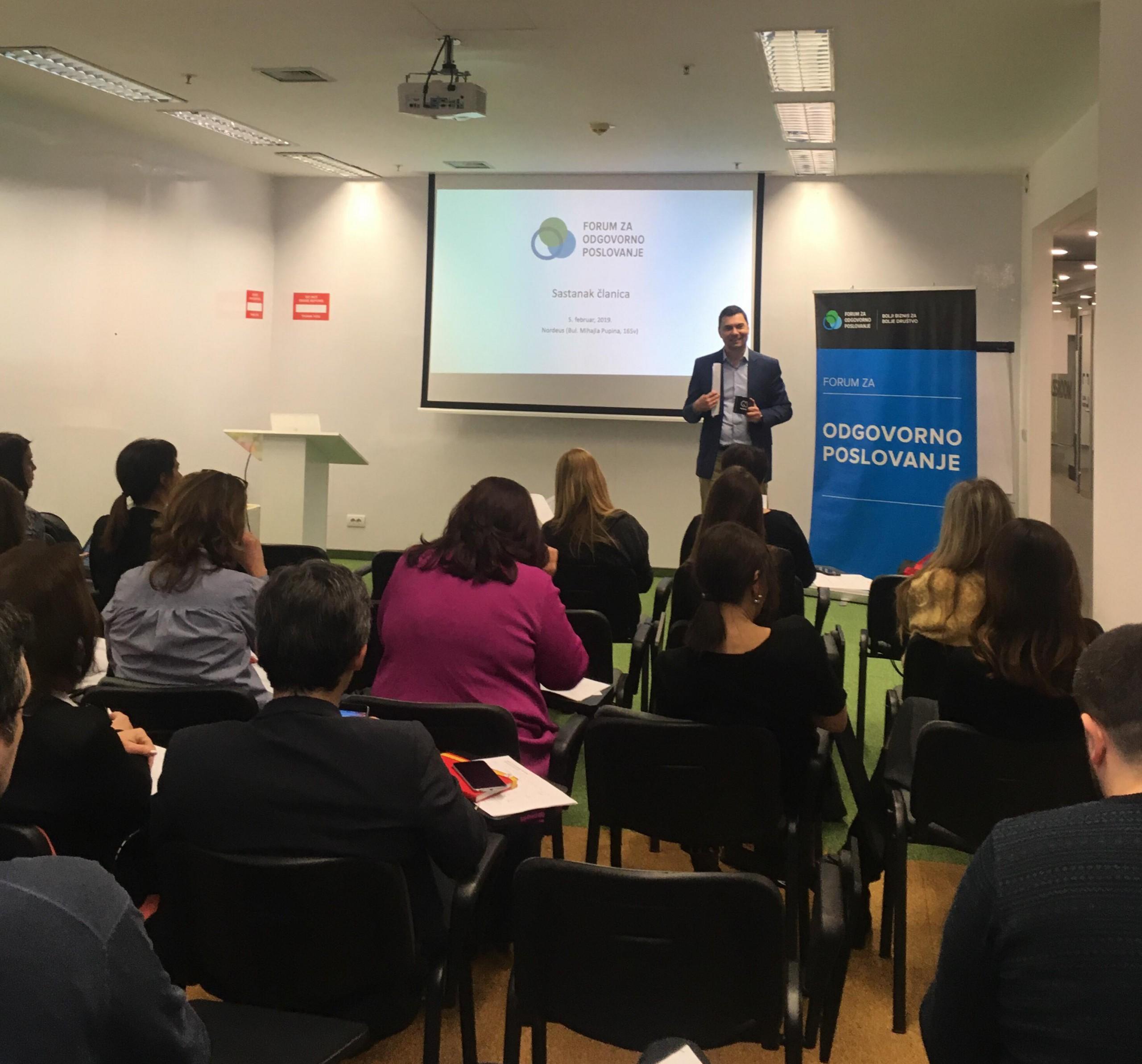 Forum za odgovorno poslovanje spreman da nastavi sa brojnim aktivnostima