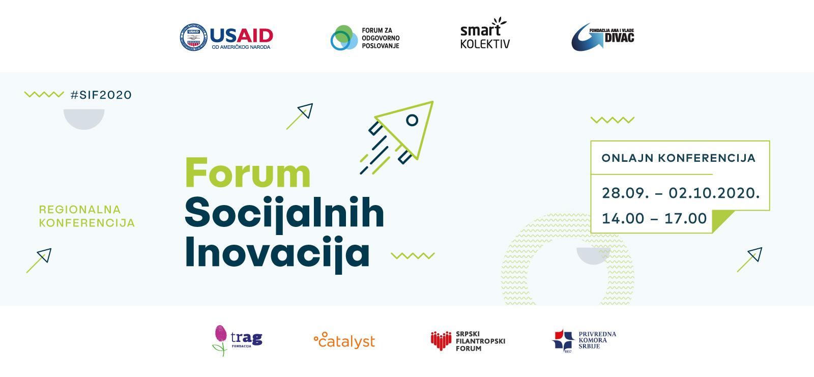 Pridružite nam se na Forumu socijalnih inovacija 2020!