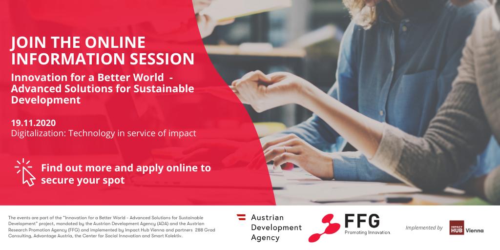 Inovacije za bolji svet: Onlajn sesije o prilikama za finansiranje frugalnih (štedljivih) inovacija na Zapadnom Balkanu