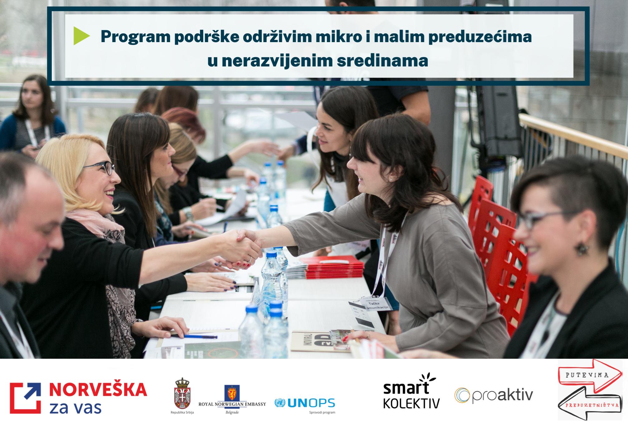 Predstavljamo učesnike Programa podrške održivim mikro i malim preduzećima u nerazvijenim sredinama