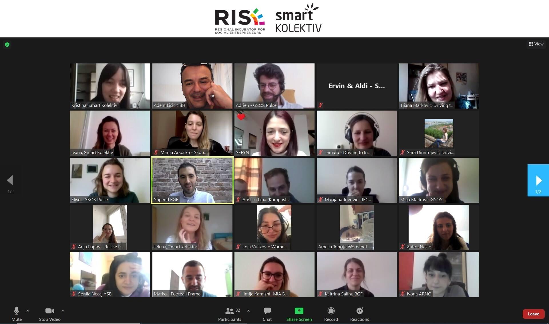 Otpočela je druga faza RISE programa za mlade – Faza Inkubacije!