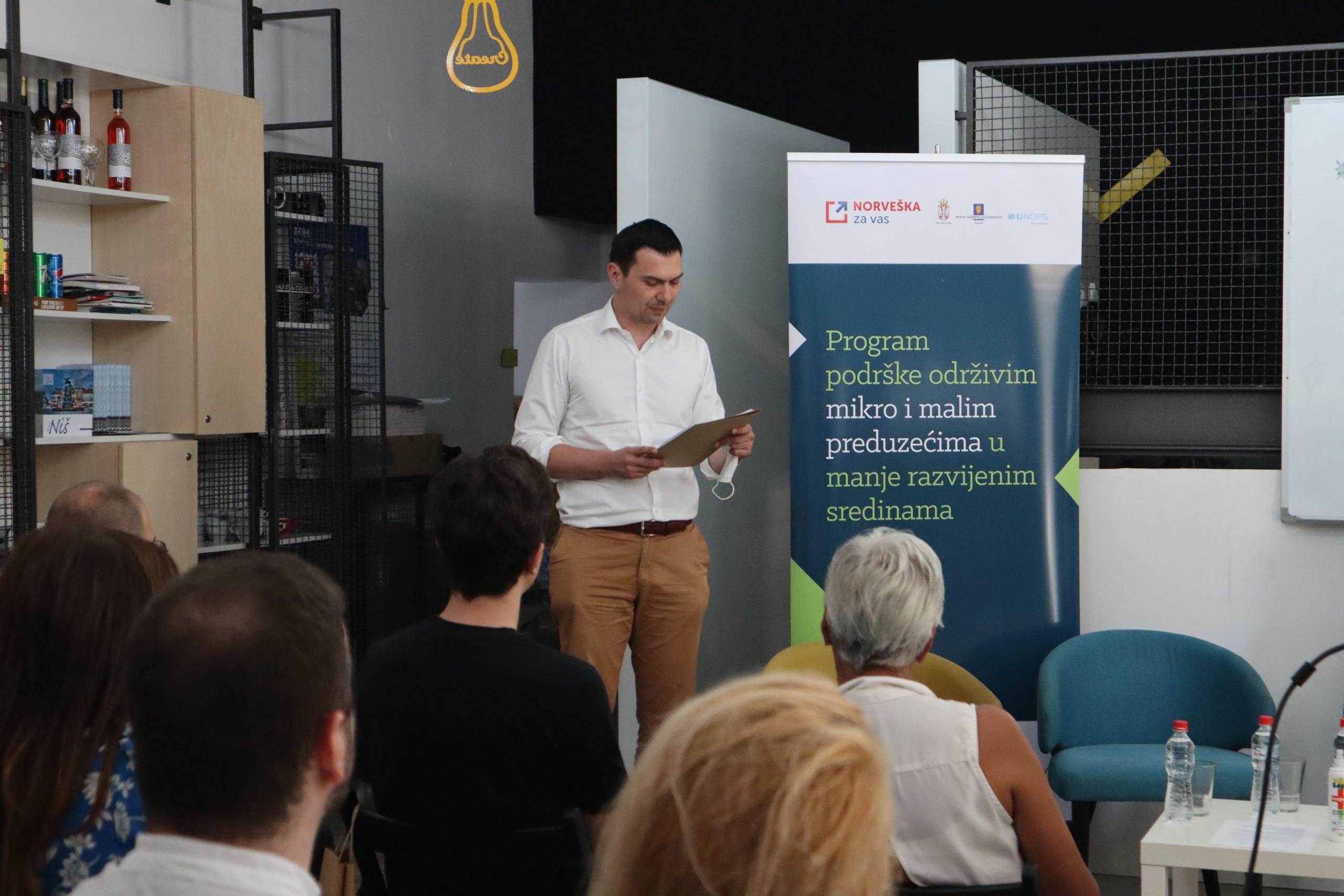 """Održan događaj """"Održivi razvoj – podrška mikro i malim preduzećima sa jakim pozitivnim uticajem na razvoj lokalnih zajednica"""""""
