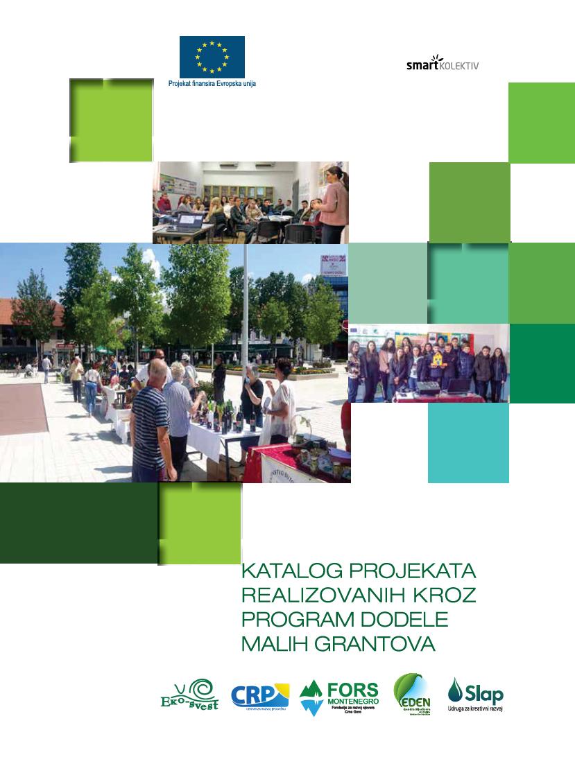Katalog projekata realizovanih kroz program dodele malih grantova u okviru GEAR projekta