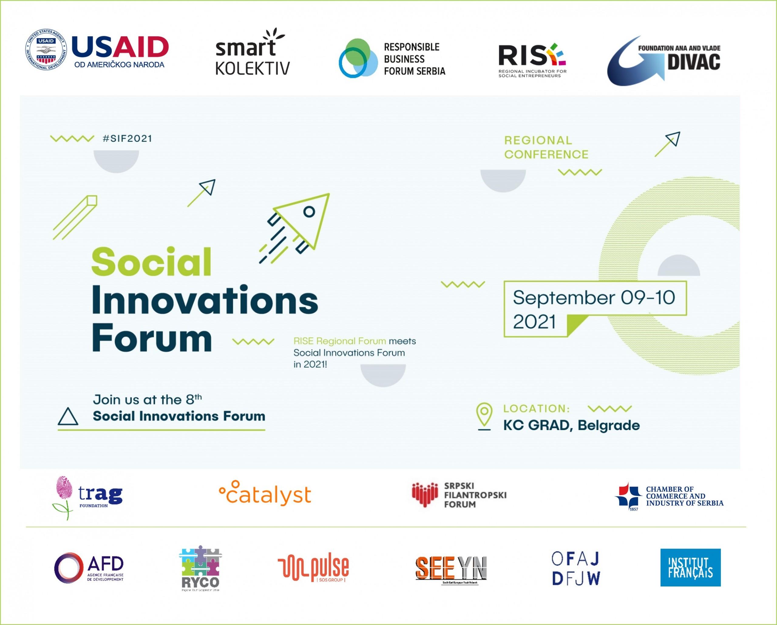 Forum socijalnih inovacija 2021: Poziv volonterima
