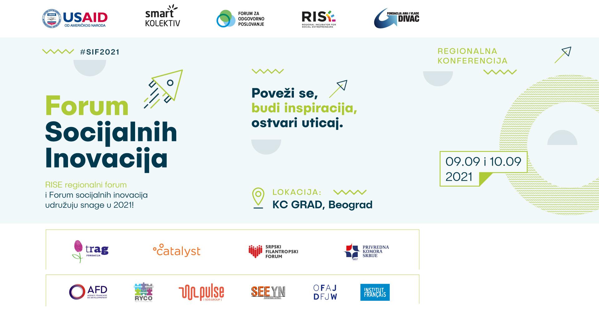 Pridružite nam se na 8. Forumu socijalnih inovacija!