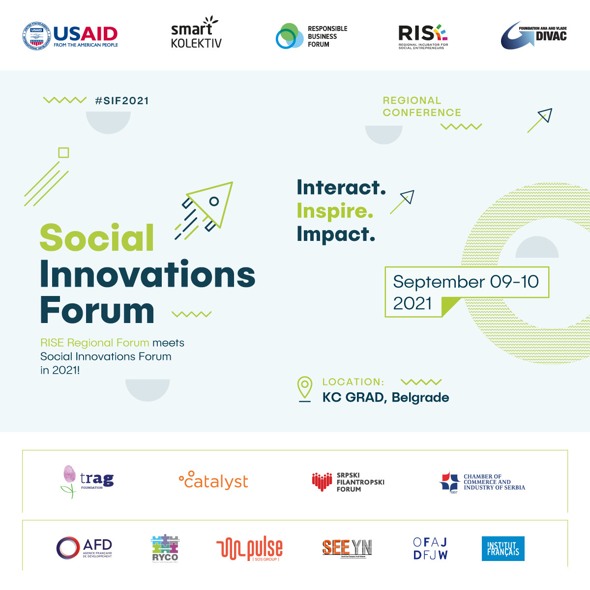 Join us at the Social Innovations Forum 2021!
